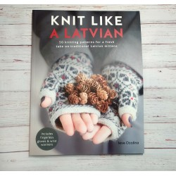 Knit like Latvian cimdu...
