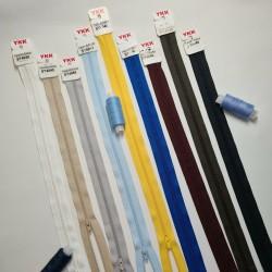 YKK 40cm/4mm plastmasas...
