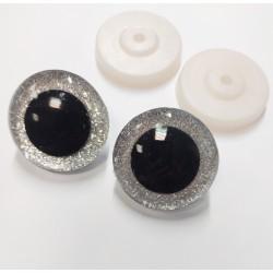 Rotaļlietu acis 40mm, 1 pāris